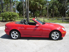 2002 Mercedes-Benz SLK320 Roadster