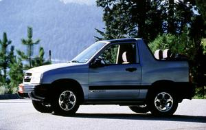 Used 2001 Chevy Tracker Convertible