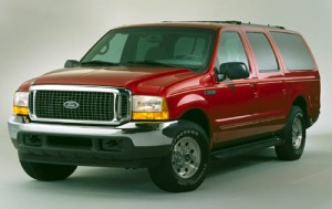 2001 Ford Excursion Eddie Bauer 6.0L V8 Turbo Diesel
