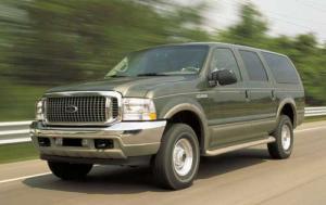 test drive car review 2000 ford excursion v10. Black Bedroom Furniture Sets. Home Design Ideas