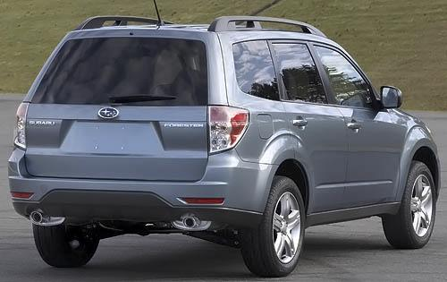 2009 Subaru Forester 2.5X rear view as shown