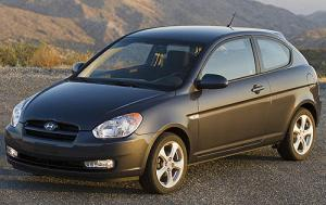 2009 Hyundai Accent Coupe GS (2009)