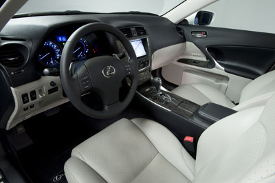 CARS: New 2009 Lexus IS 250