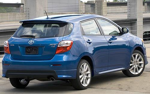 Toyota Matrix 2010 Invoice And Features Review