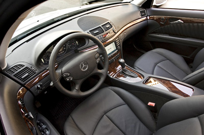 2009 Mercedes Benz E350 Interior