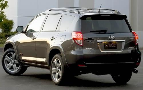 2009 Toyota Rav Rear View