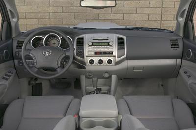 2009 toyota tacoma interior