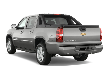 2010 Chevy Avalanche rear view