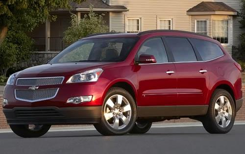 2010 Chevy Traverse LTZ SUV