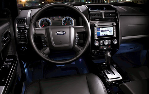 2010 Ford Escape Limited interior
