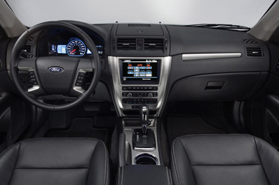 2010 Ford Fusion interior as shown