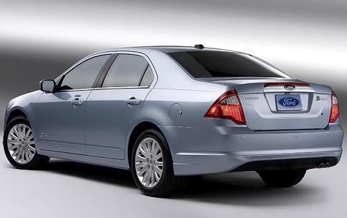 2010 Ford Fusion Hybrid rear view