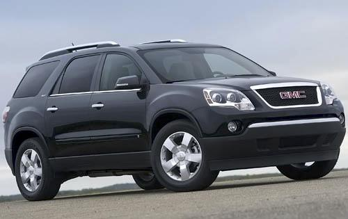 review 2010 gmc acadia suv. Black Bedroom Furniture Sets. Home Design Ideas