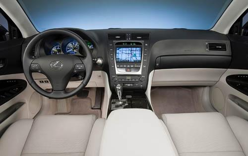 2010 Lexus GS 460 interior. Interior: