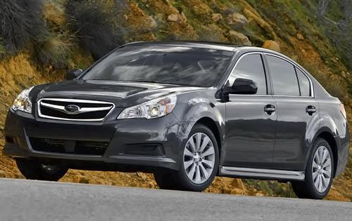 There are many model choices when considering a 2010 Subaru Legacy: base
