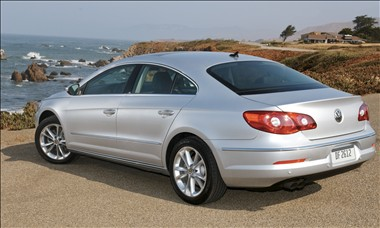 2011 Volkswagen CC rear view