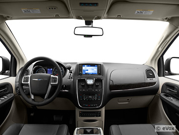 2011 Chrysler Town And Country Interior