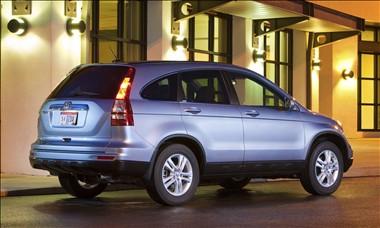 2011 Honda CR V Rear View