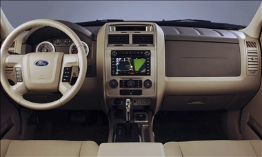2011 Ford Escape interior