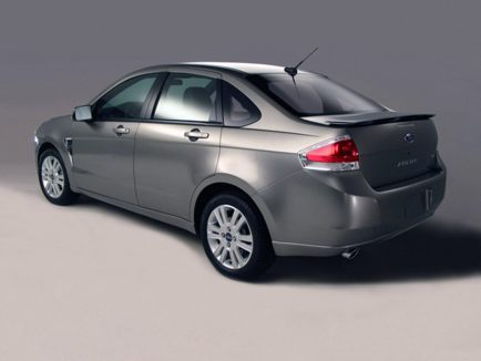 2011 Ford Focus rear view