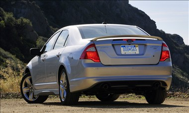 2011 Ford Fusion rear view