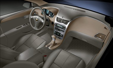2011 Chevy Malibu interior