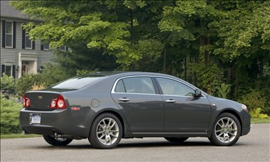 2011 Chevy Malibu rear view