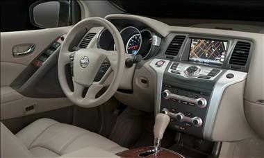 2011 Nissan Murano Interior