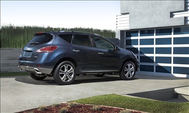 2011 Nissan Murano Rear View