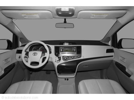 2011 toyota sienna minivan invoice and features review. Black Bedroom Furniture Sets. Home Design Ideas
