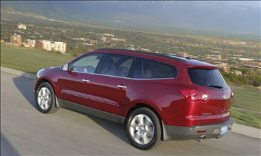 2011 chevy traverse features and prices. Black Bedroom Furniture Sets. Home Design Ideas
