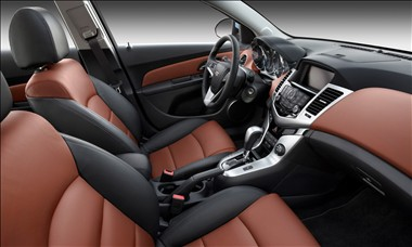 2012 Chevy Cruze interior
