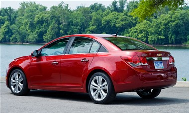 2012 Chevy Cruze rear view