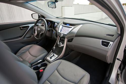 2013 Hyundai Elantra Limited Interior