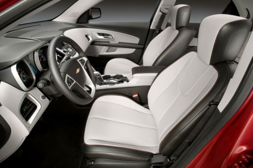 Cars: 2013 Chevy Equinox LTZ interior