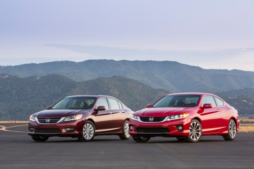 Cars: 2013 Honda Accord Coupe And Sedan