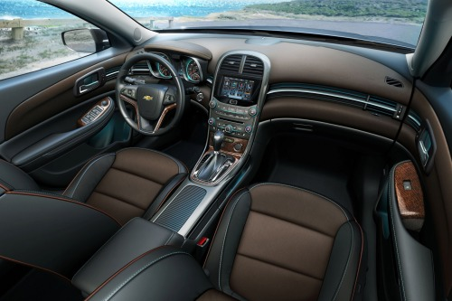 Car: 2013 Chevy Malibu LTZ interior