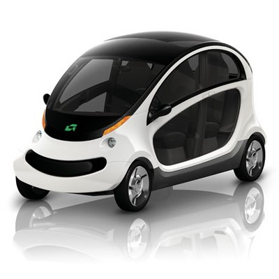 Chrysler Announces 2009 GEM Peapod Electric Car