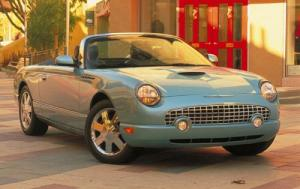 2002 Ford Thunderbird Deluxe Convertible