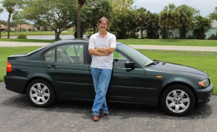 Josh and his 2005 BMW 325i